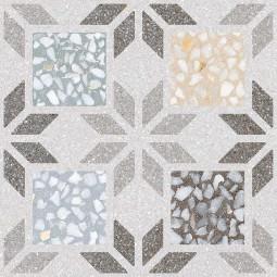 APULIA R MULTICOLOR PATCHWORK 29,3 x 29,3 cm - Carrelage aspect carreaux de ciment