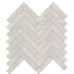 IONIC MAGNETIC WHITE - 28,1x28,1 cm - Mosaïque chevron