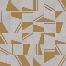 KOKOMO GRIS ORO NASSAU PATCHWORK Carrelage aspect carreaux de ciment