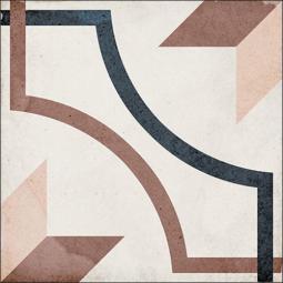 ART NOUVEAU - EMBASSY COLOUR - Carrelage 20x20 cm aspect carreaux de ciment vieilli coloré