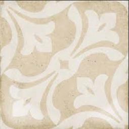 ART NOUVEAU - LA RAMBLA BISCUIT - Carrelage 20x20 cm aspect carreaux de ciment vieilli coloré