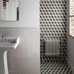 CAPRICE PROVENCE Carrelage aspect carreaux de ciment cube géométrique