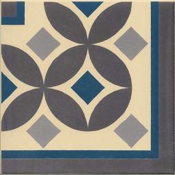 1900 GÜELL 3 CORNER 20 x 20 cm Carrelage aspect carreaux de ciment